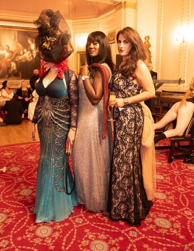 Countess Diamond at the Femdom Ball with Anne Tittou and Mistres Lorraine